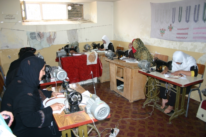 Women of Afghanistan sewing