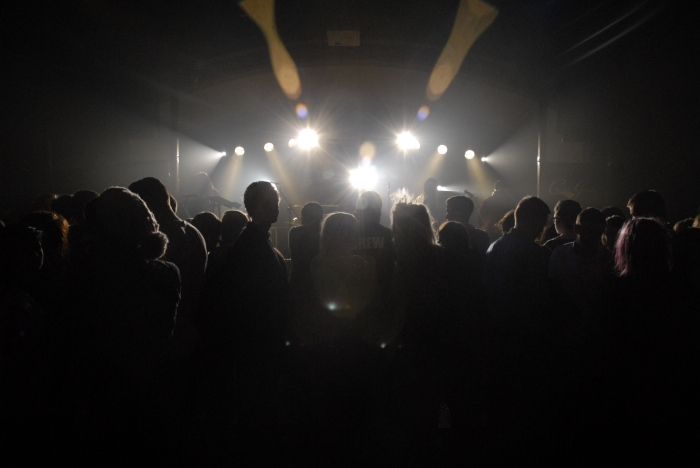 concert in hall