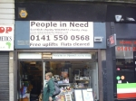 People in Need charity shop
